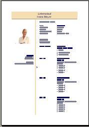 Ausführlicher Lebenslauf als Lohnbuchhalter / Lohnbuchhalterin
